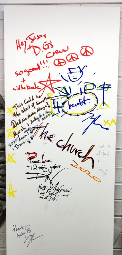 The Church Signed Canvas