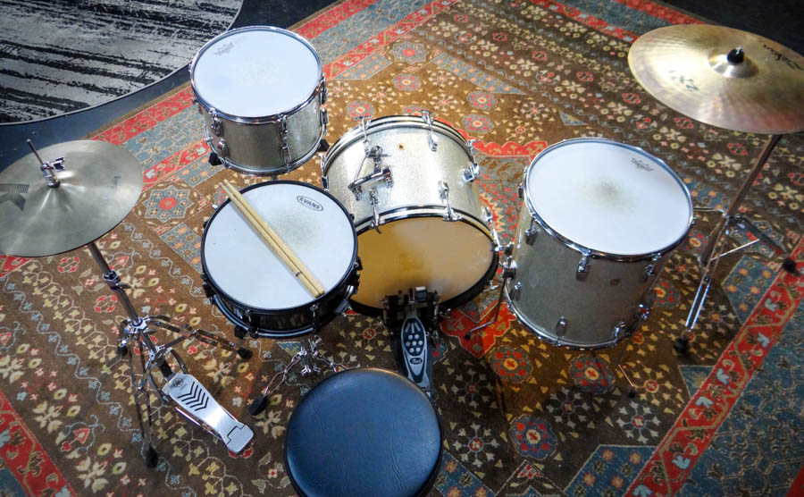 1962 Ludwig 3 piece kit