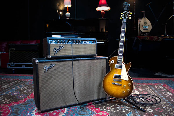 Vintage Fender Bassman Duo