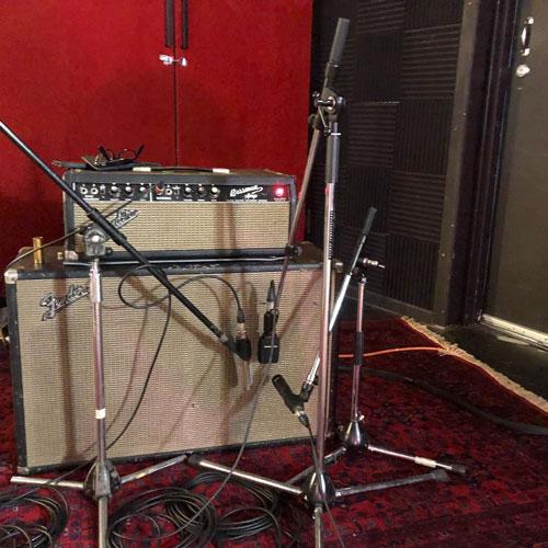Hoodoo Gurus - Dave's Matchless rig