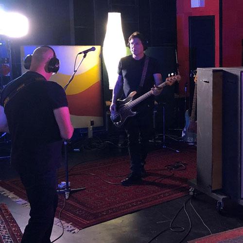 Hoodoo Gurus - Rick at Damien Gerard Studios