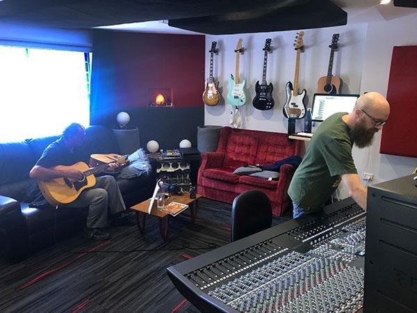 Paul Bancam with Andrew Beck at Damien Gerard Studios
