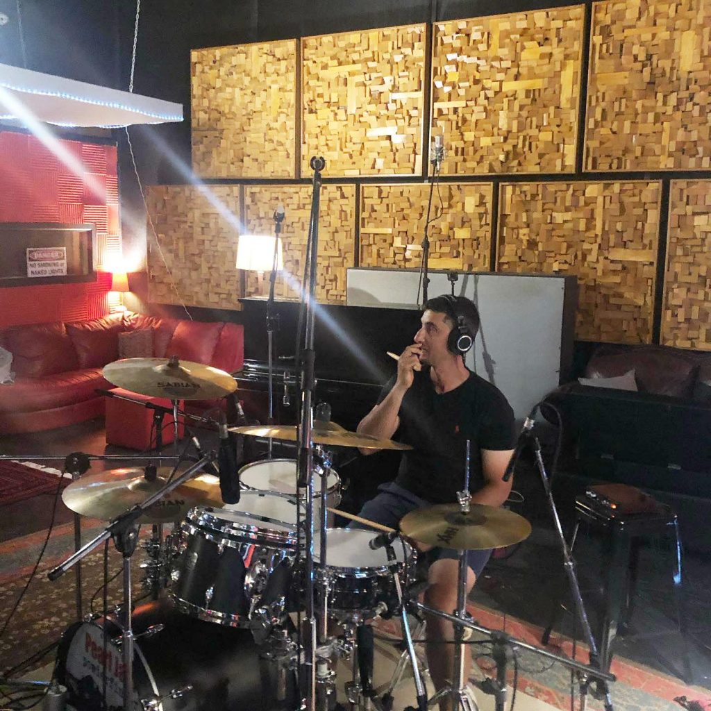 Drums - The Fields at Damien Gerard Studios